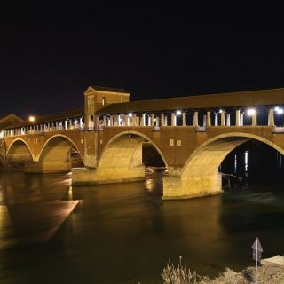 Alte Brücke in Pavia