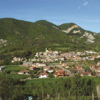 Panorama von Godiasco